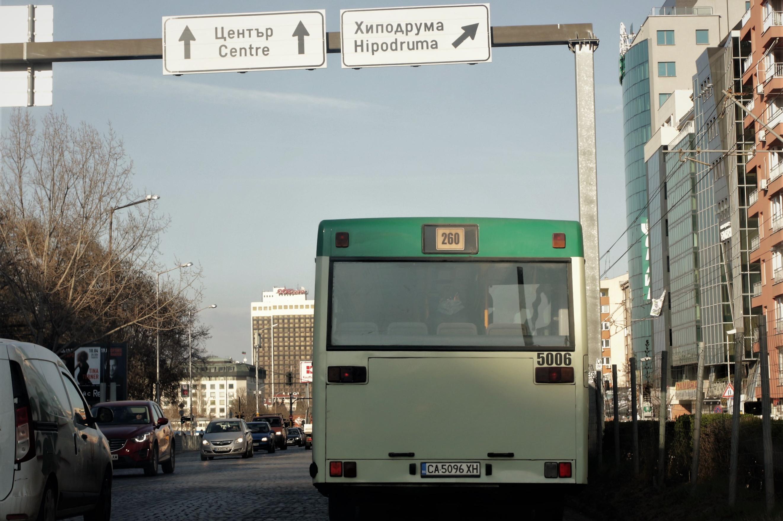 Правят корекции по автобусната линия 260