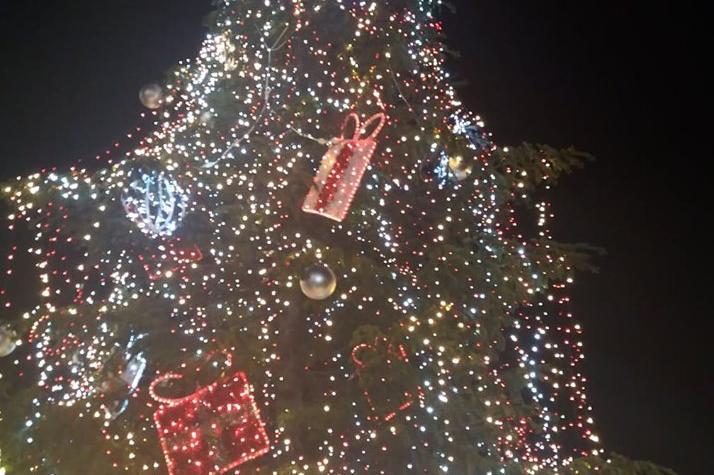 Коледното дърво на София