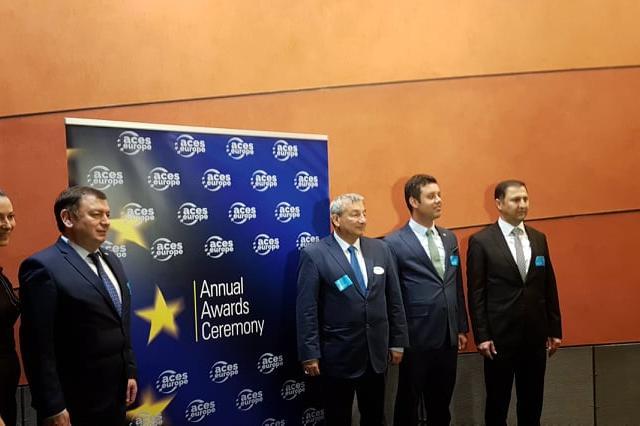 Анатоли Илиев на Гала вечерта на ACES в ЕП в Брюксел