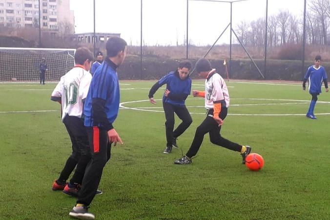 Откриване на футболно игрище в Ботунец, район Кремиковци
