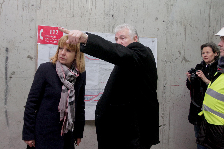 Стоян Братоев за пускането на Третата линия на метрото