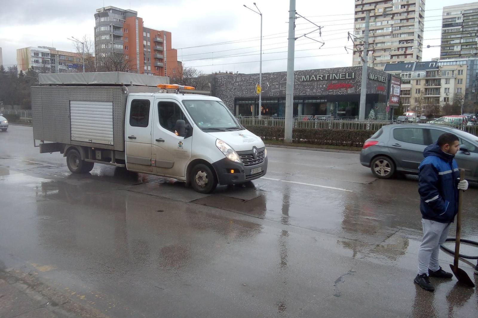 Обход на пътищата в София