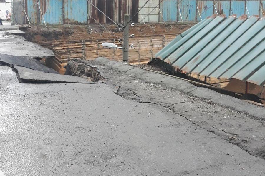 Пропадане на строеж в Манастирски ливади