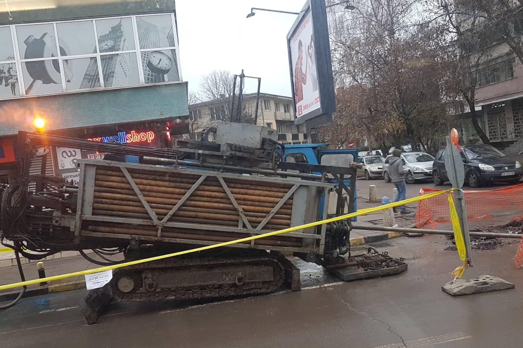 Ремонт на водопровод на ул. Шипченски проход