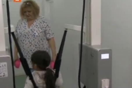 Робот за рехабилитация и прохождане на деца с ДЦП
