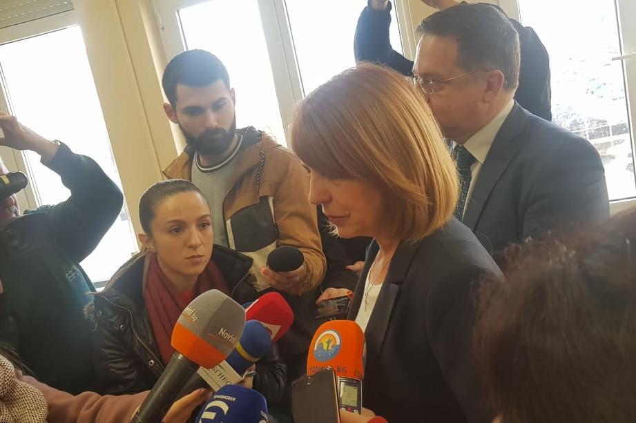 Фандъкова коментира водоподаването към Перник