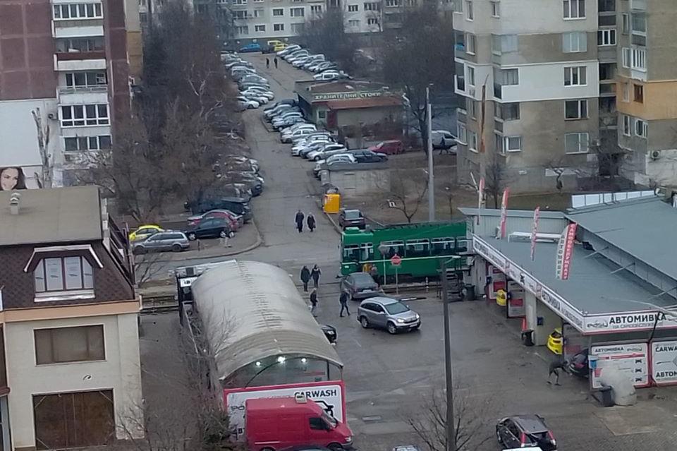 Катастрофа на кола с трамвай 8