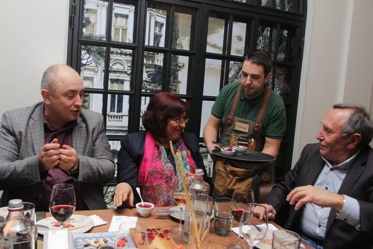 Годишна среща със журналисти на Калоян Паргов