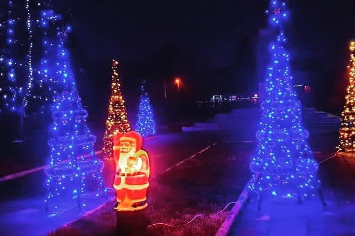 Коледната украса в казичене