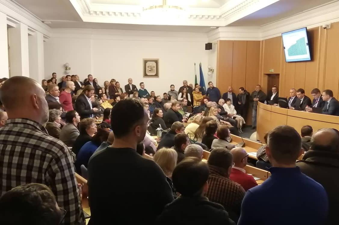 Дончо Барбалов обсъжда бюджета за 2020 с районните кметове