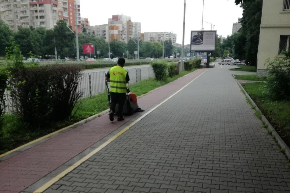 """Възстановено е осветлението в подлеза на бул. България и """"Гоце Делчев"""