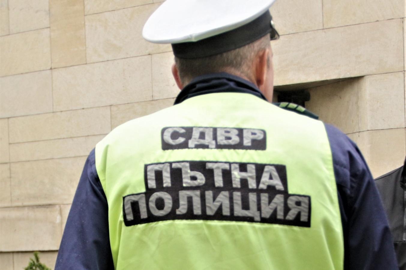 Пътна полиция в София