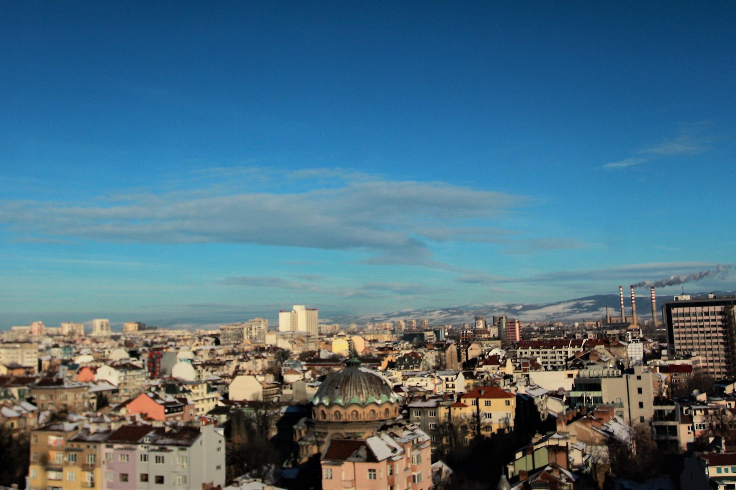 Въздухът в София на 4 януари 2020