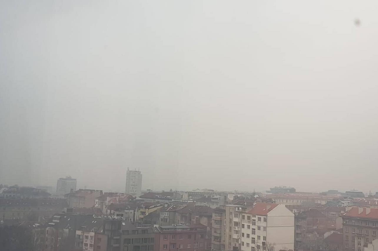 Въздуха в София