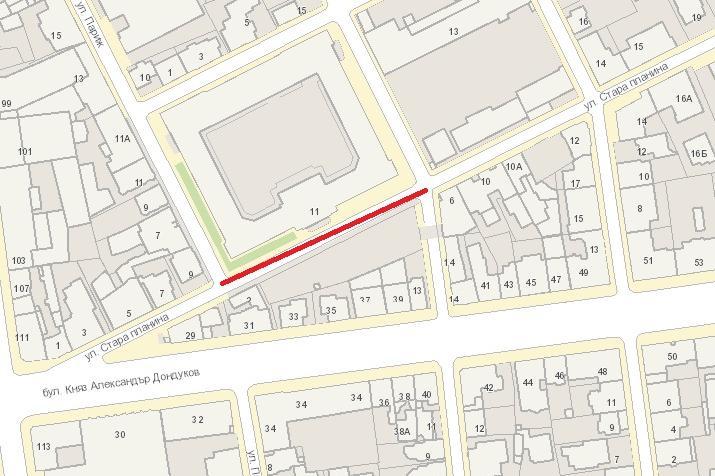 Подмяна на канализация по ул. Стара планина