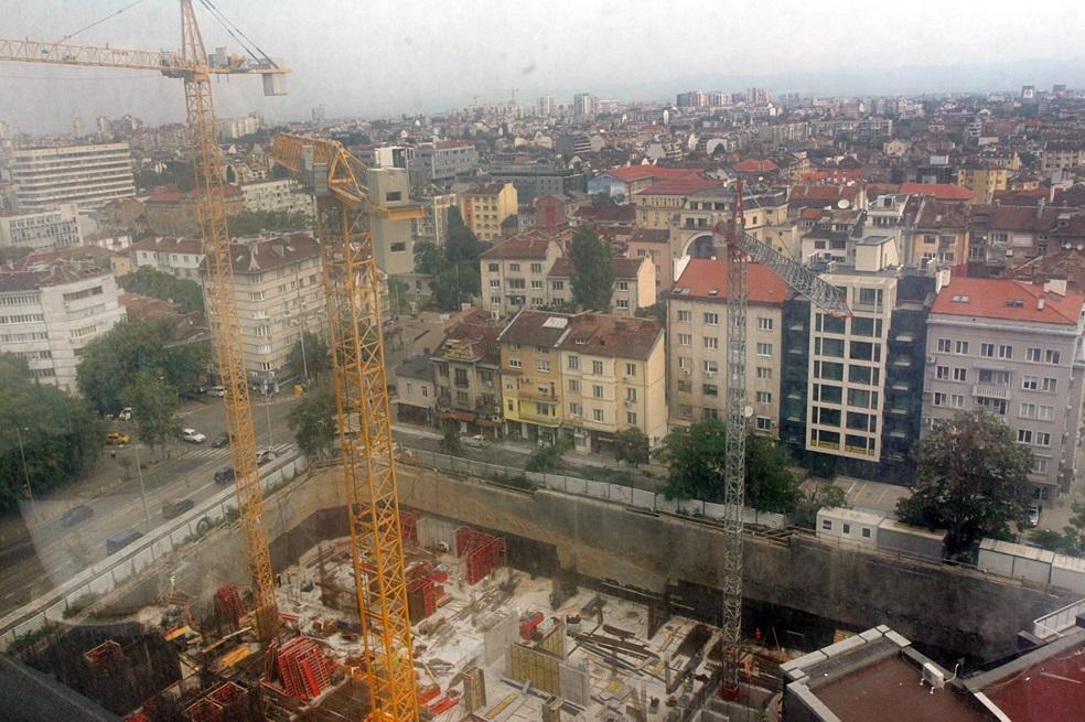 Антисеизмично строителство в София