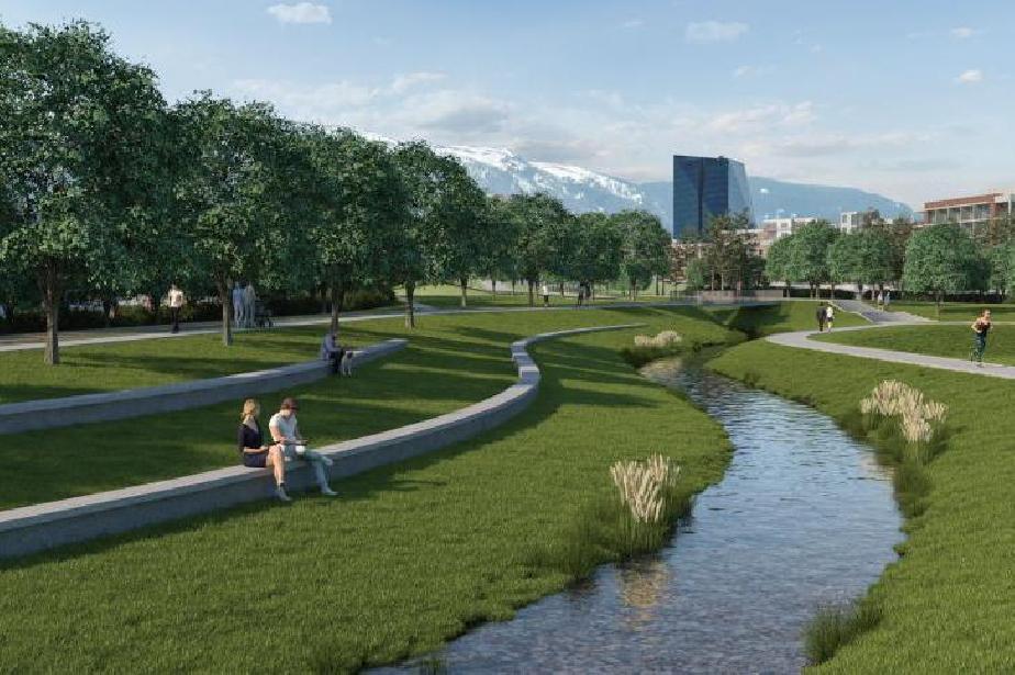 """Нов крайречен парк в """"Манастирски ливади-Изток"""""""