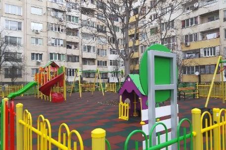 Детски площадки в район Подуене, София