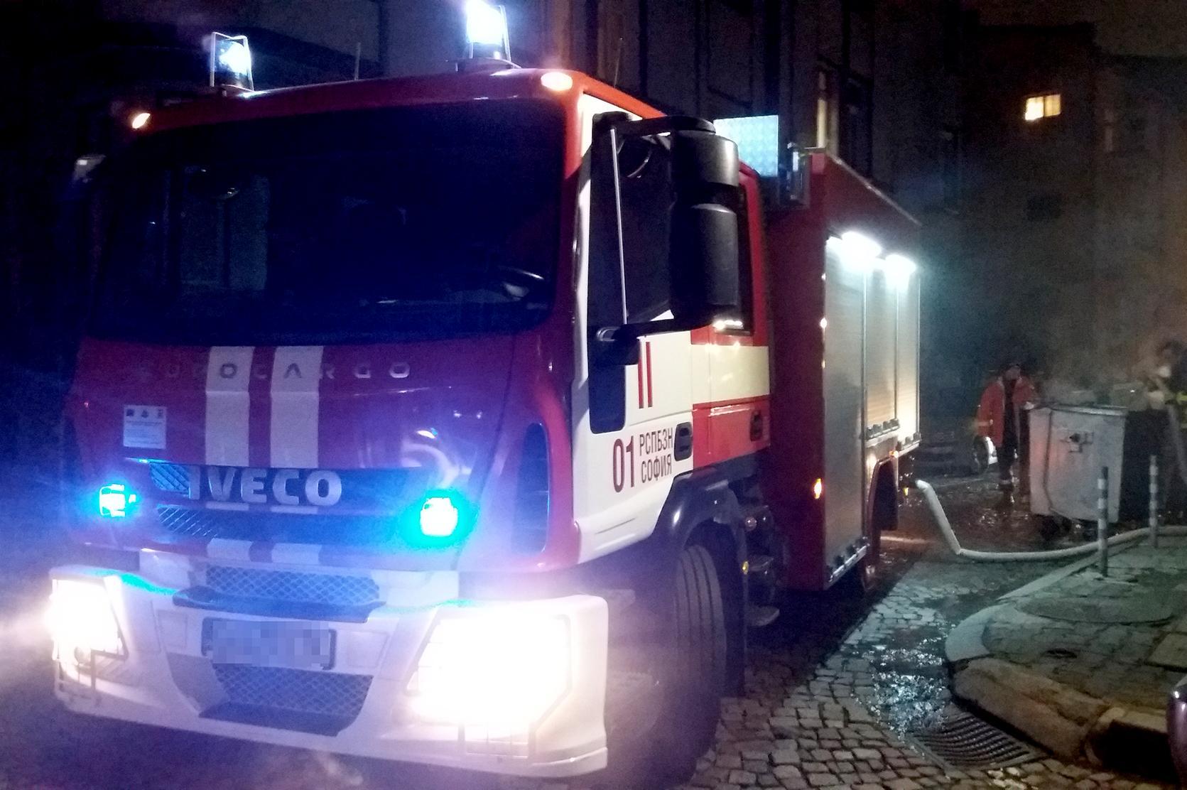 Изгоря мъж в апартамента на ул. Св. св. Кирил и Методий