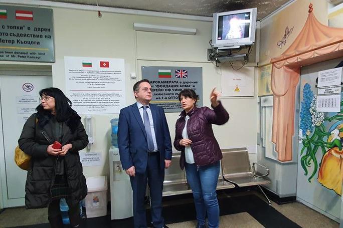 Пожарозвестителна система в Специализираната болница за рехабилитация на де