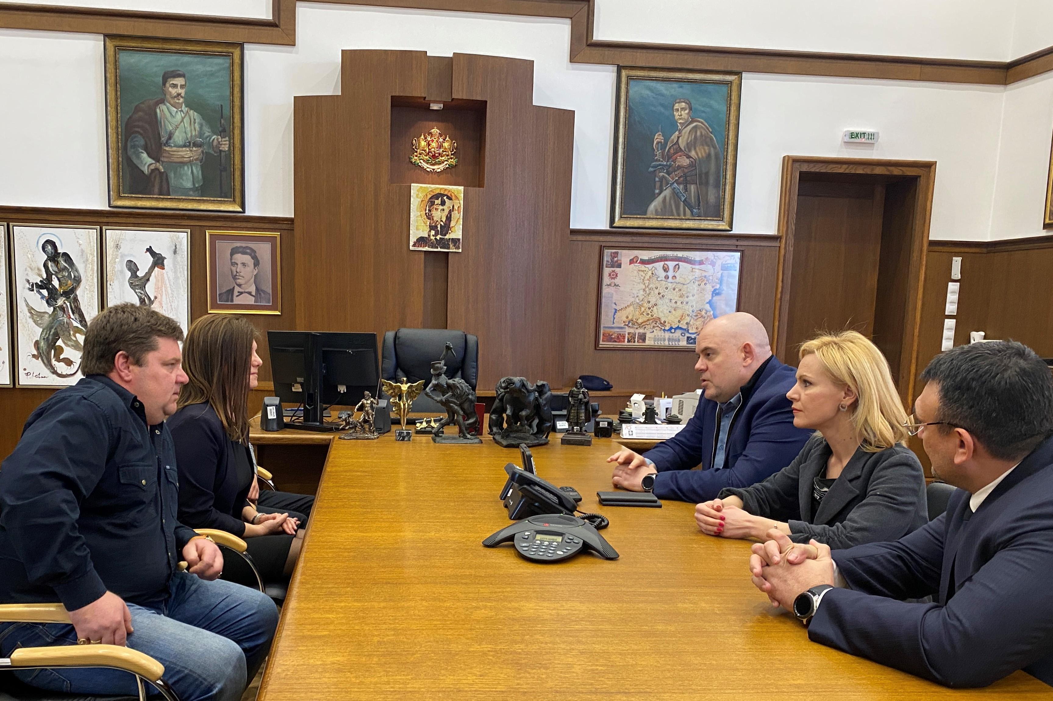 Среща на главния прокурор