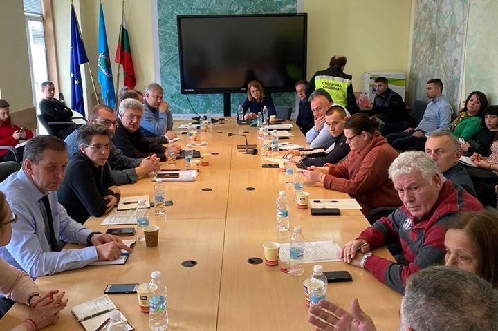 Извънредно съвещания в Столична община за коронавирус