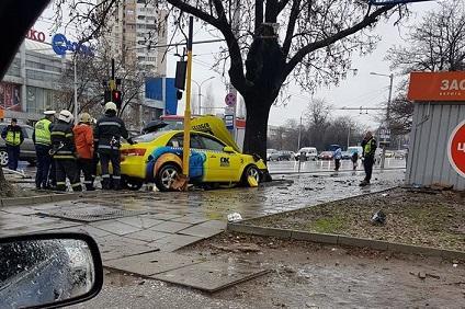 катастрофа с такси
