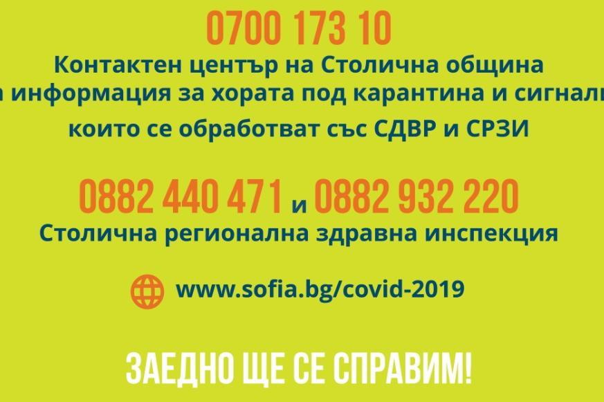 Вижте телефоните за услуги и сигнали в София