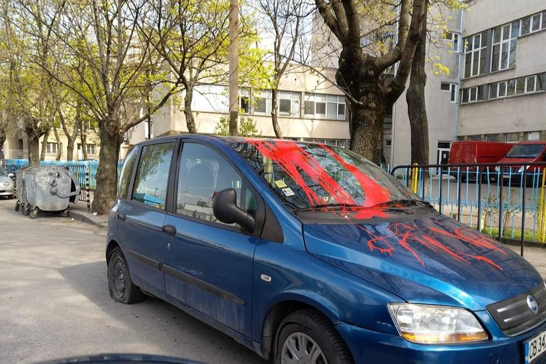 кола в боя