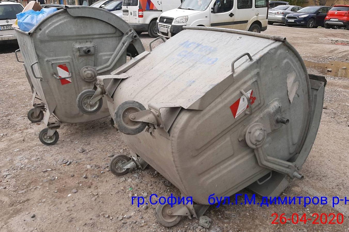 """Вандали вилняха в """"Изгрев"""" и спукаха 4 гуми на кола на Столичен инспекторат"""