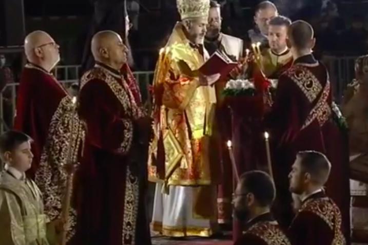 Българският патриарх Неофит: Нека вестта за Христовото Възкресение сгрява с