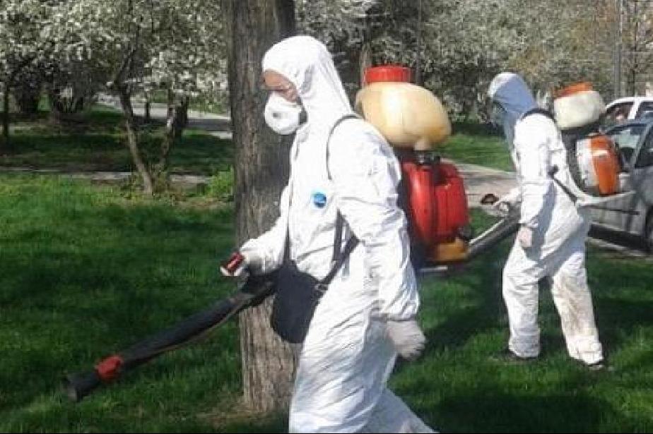 Започна пръскането срещу кърлежи на паркове и градини в София