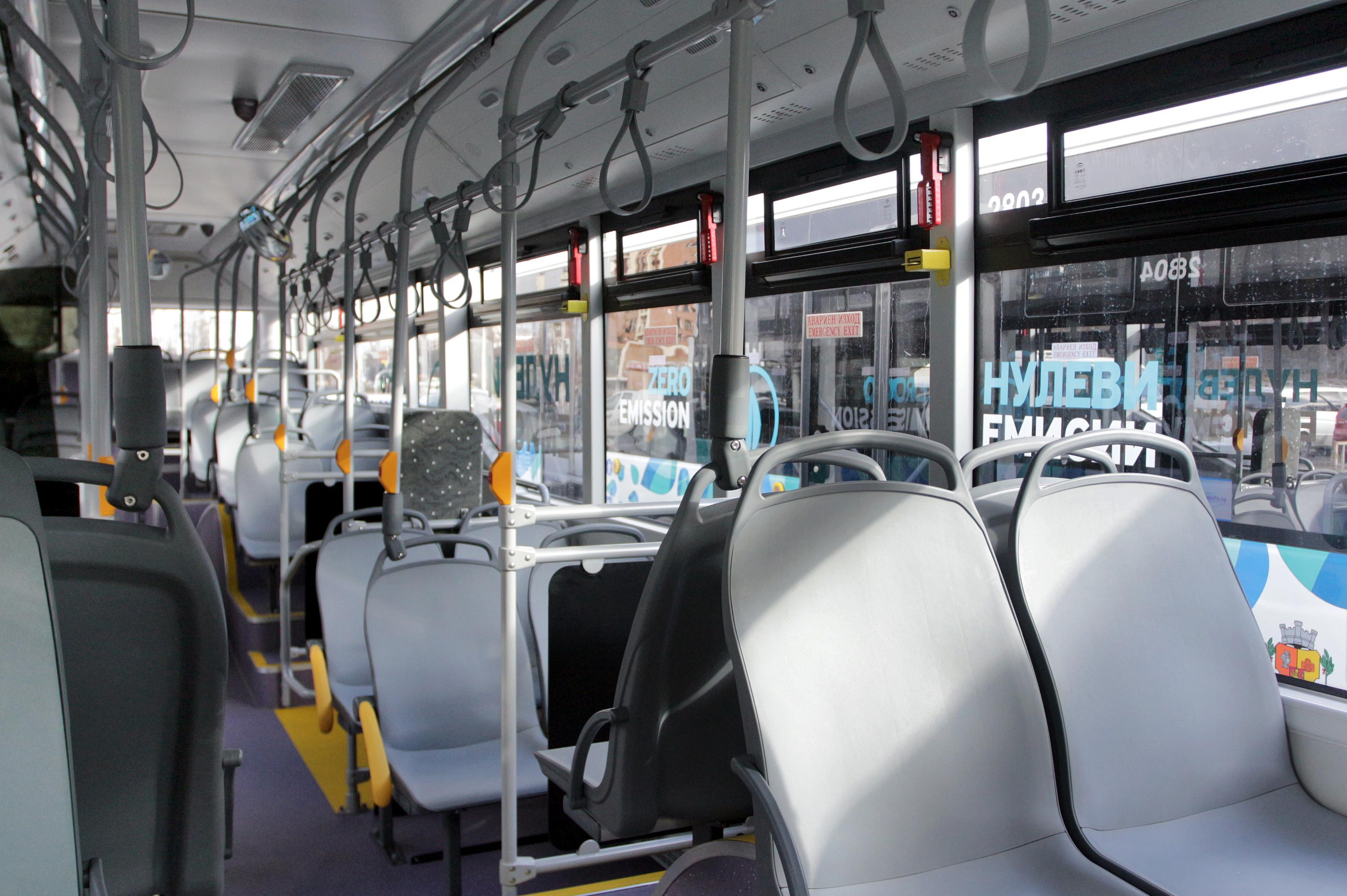 Без климатици в градския транспорт на столицата
