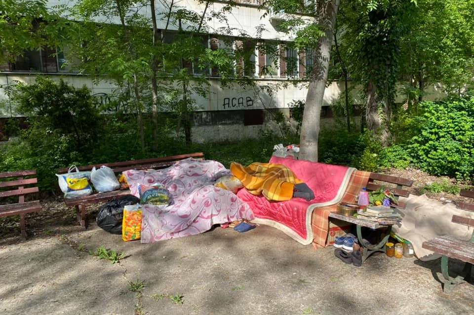 Психичноболна жена живее пред XXIX поликлиника