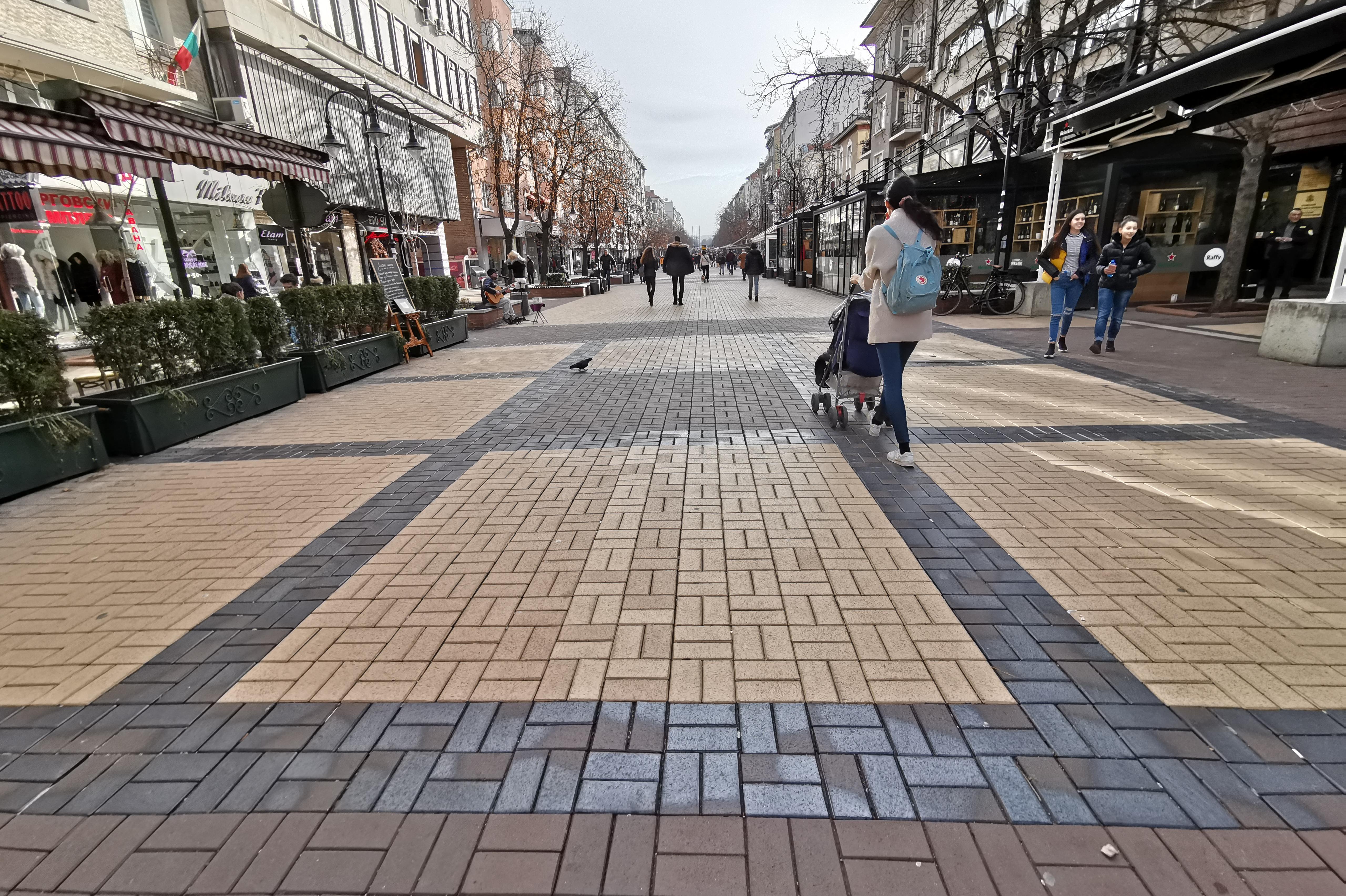 """Интернет без пари по пешеходната част на бул. """"Витоша"""""""