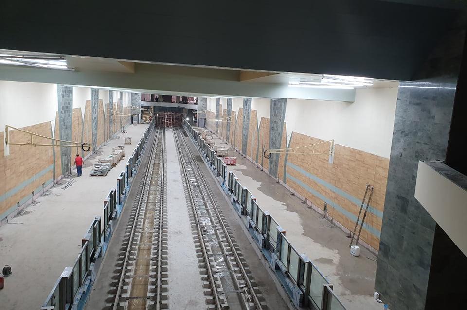 През юни започват тестовете на влаковете на метрото в Овча купел