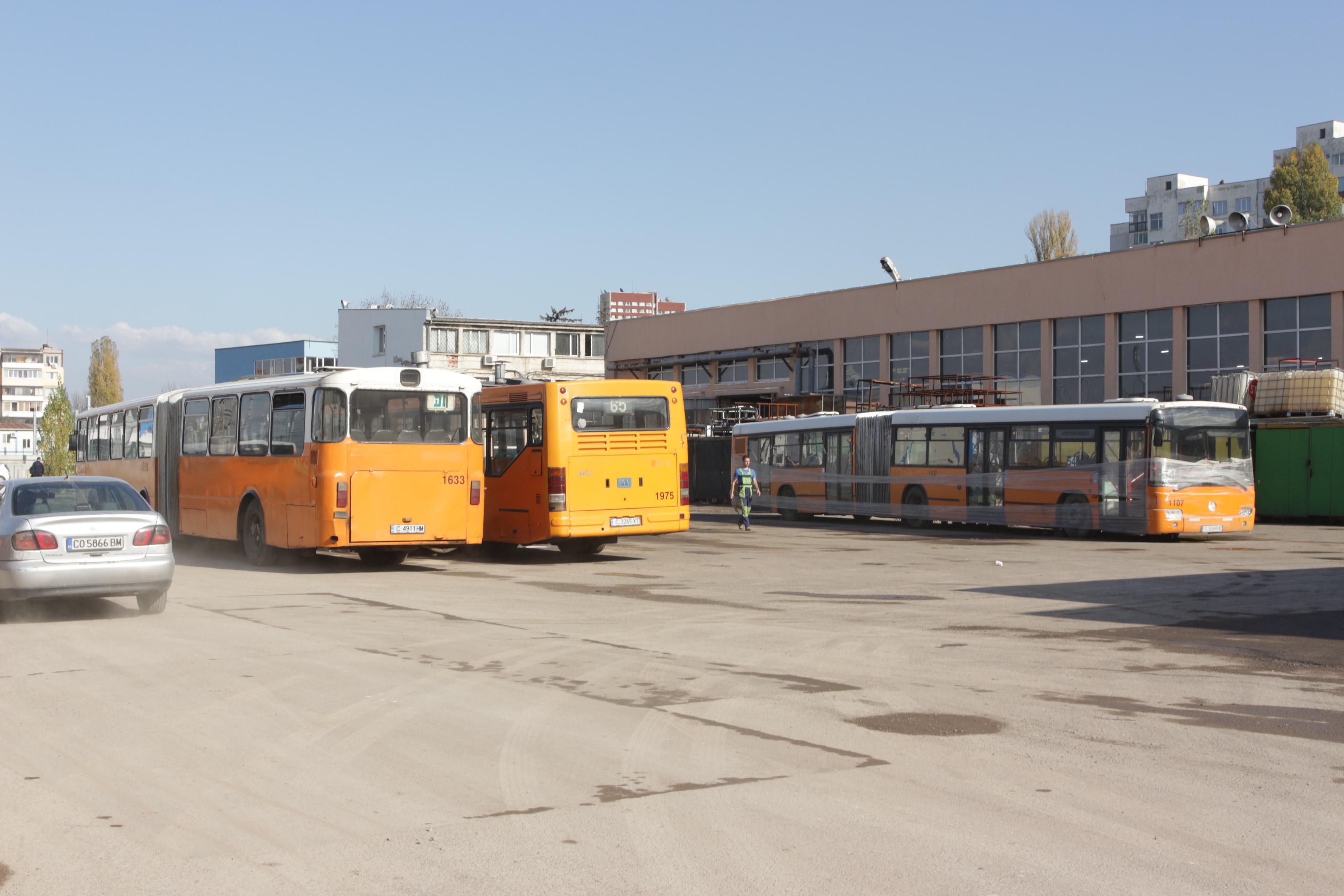 Промени в разписанията на градския транспорт в София, считано от 11 май