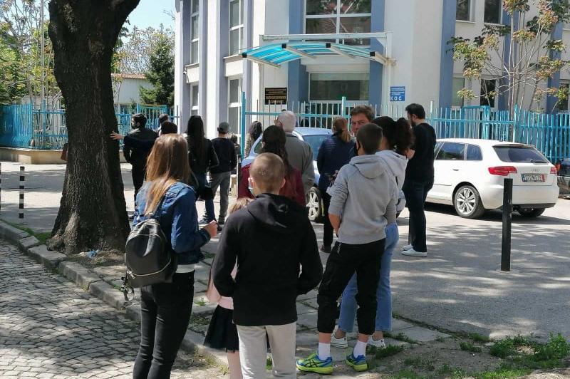 Опашка се изви за лични документи пред II РПУ в София
