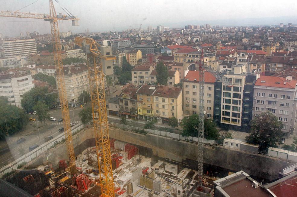 София в челната тройка на градовете за строеж на нови жилища