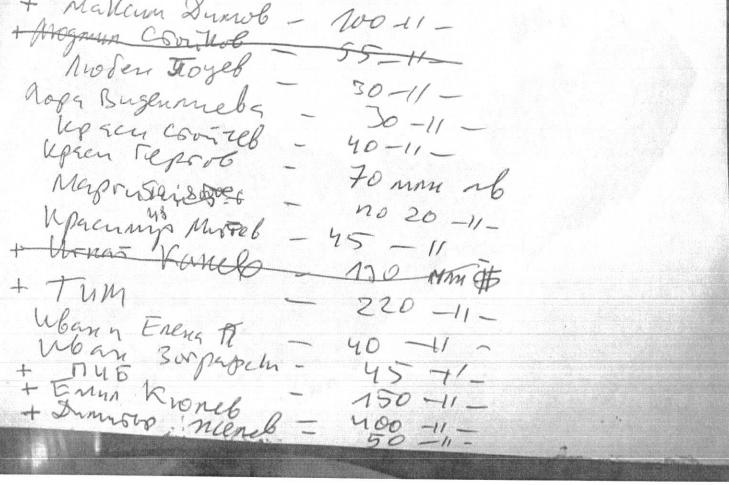 В дома на обвиняем откриха списък с имена и милиони по аферата с боклука