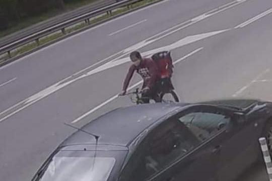 """Апаш открадна велосипед с детско столче от """"Лозенец"""""""
