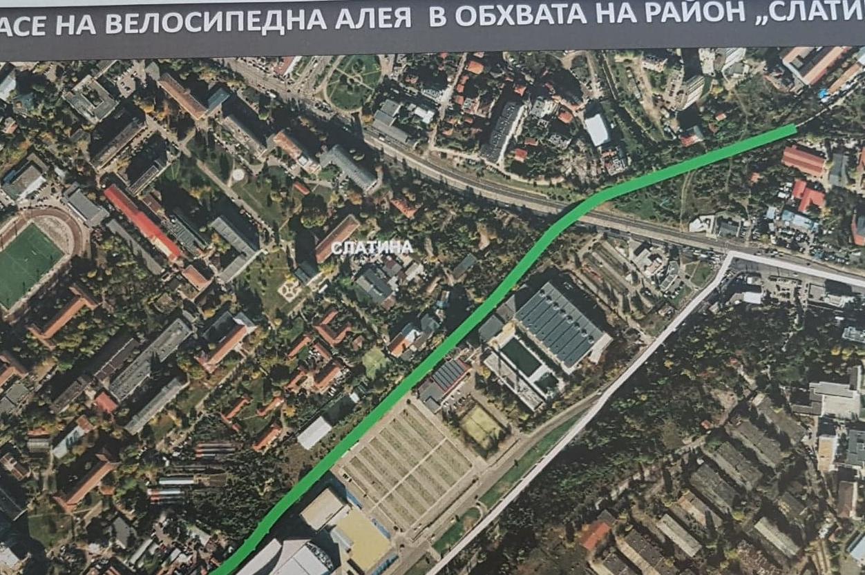 Готов е проектът на устройствен план за първия етап на Зелен ринг в София
