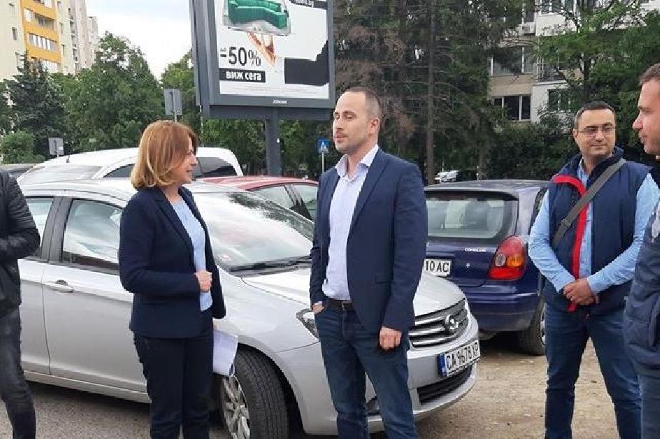 """Реконструкция: Правят ново трасе за трамваите и велоалеи по """"Тодор Каблешко"""