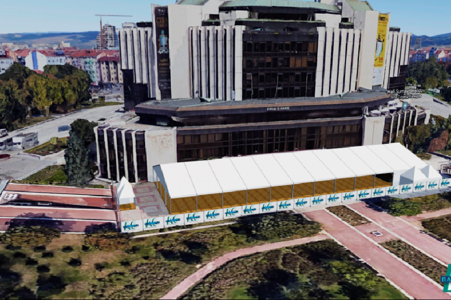 НДК изгражда мултифункционална платформа на открито