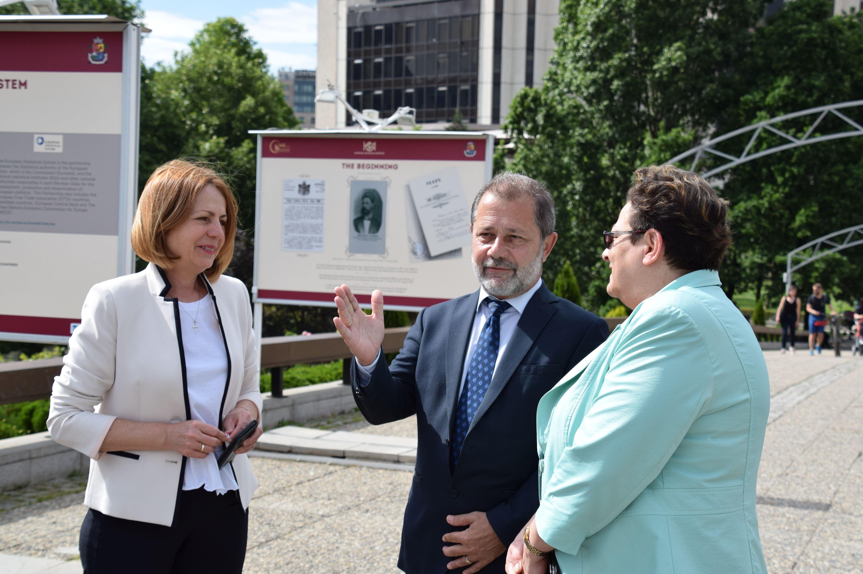 Откриха изложбата по случай 140-ата годишнина от създаването на НСИ (СНИМКИ