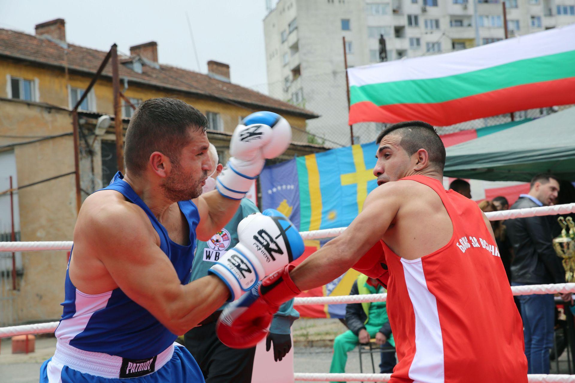 Турнир по бокс в ЦСЗ