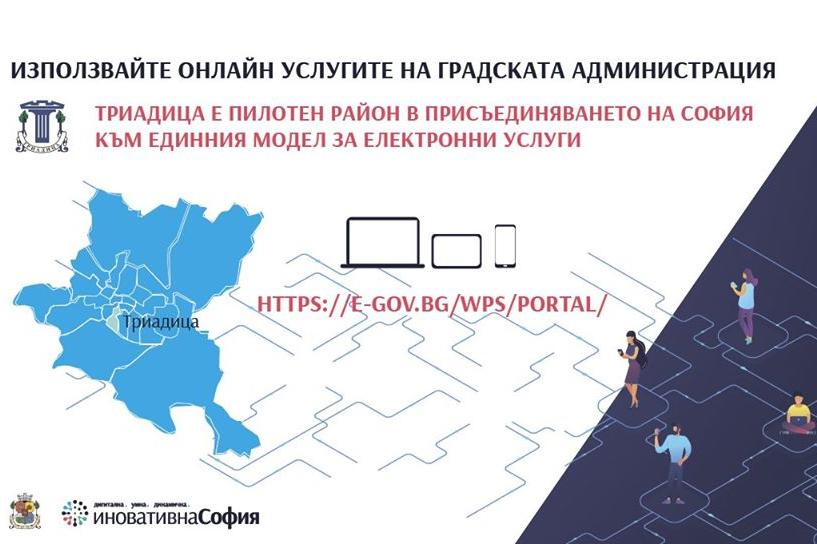 Триадица с електронни услуги за граждани и бизнес