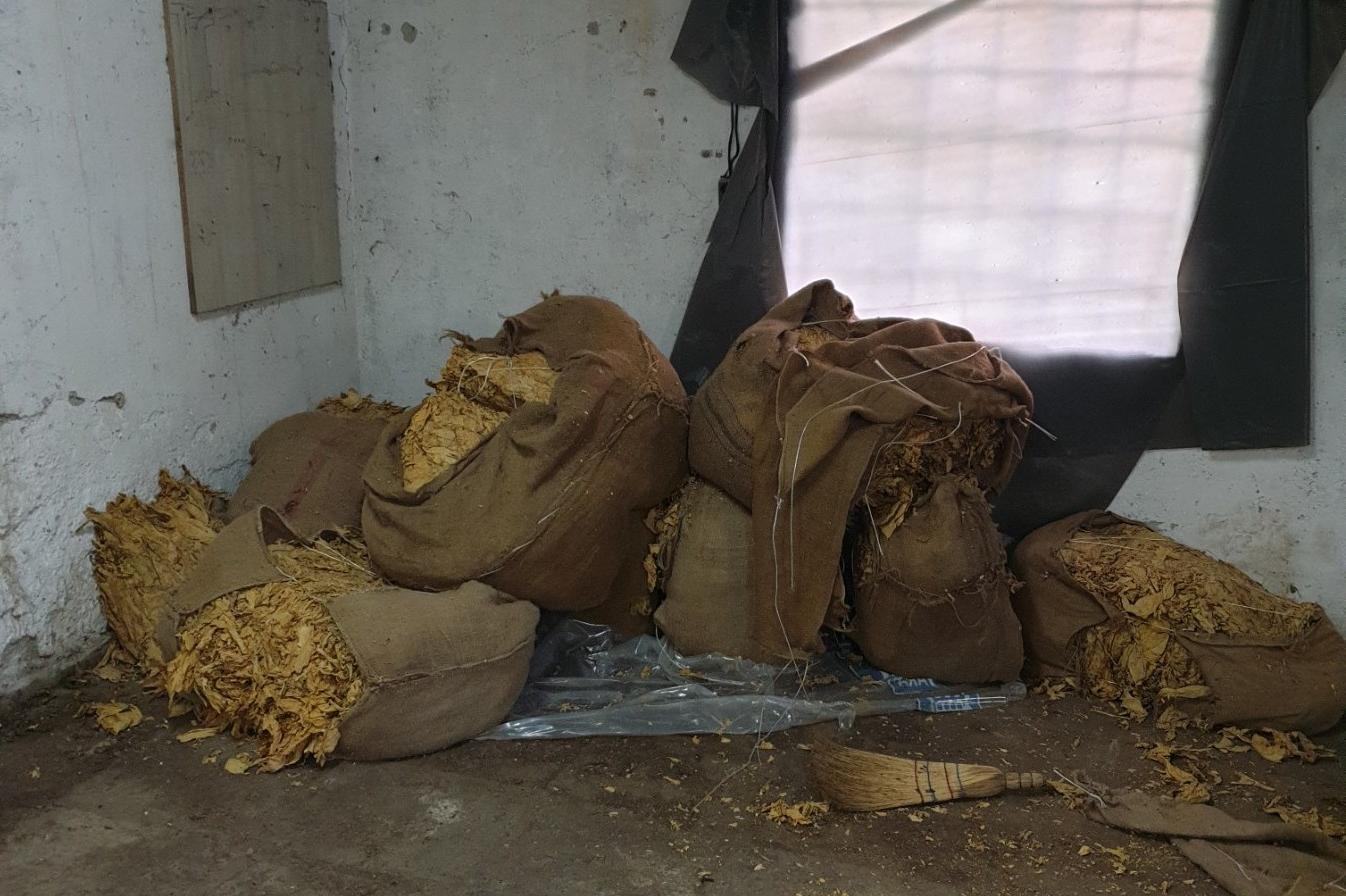 Над 450 кила тютюн без бандерол иззеха полицаи в София