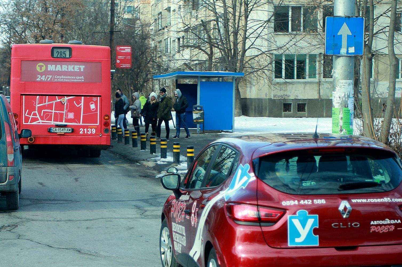 """Променят маршрута на автобуси 85 и 285 в посока """"Хаджи Димитър"""""""