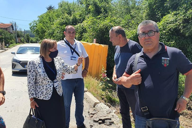 Панчарево и Кокоаляне светнаха от чистота след среща на Сдружение с кмета н